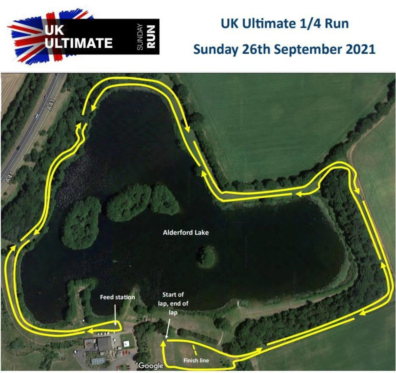 Run Quarter Map Only