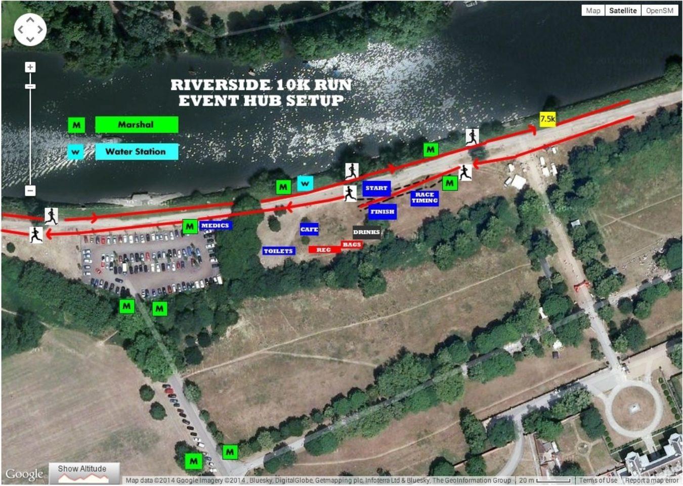 Riverside Event Hub Setup