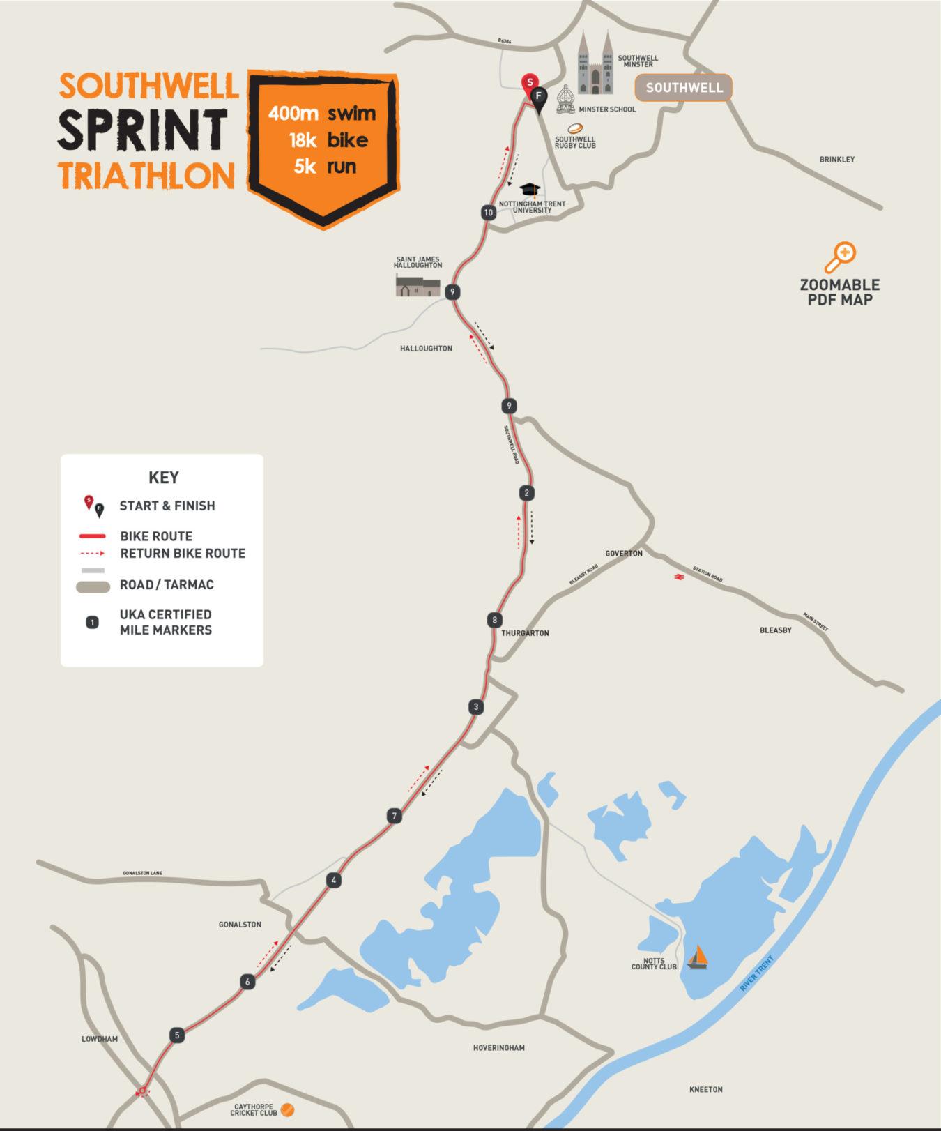 Southwell 20 Appendix 1 Bike Map