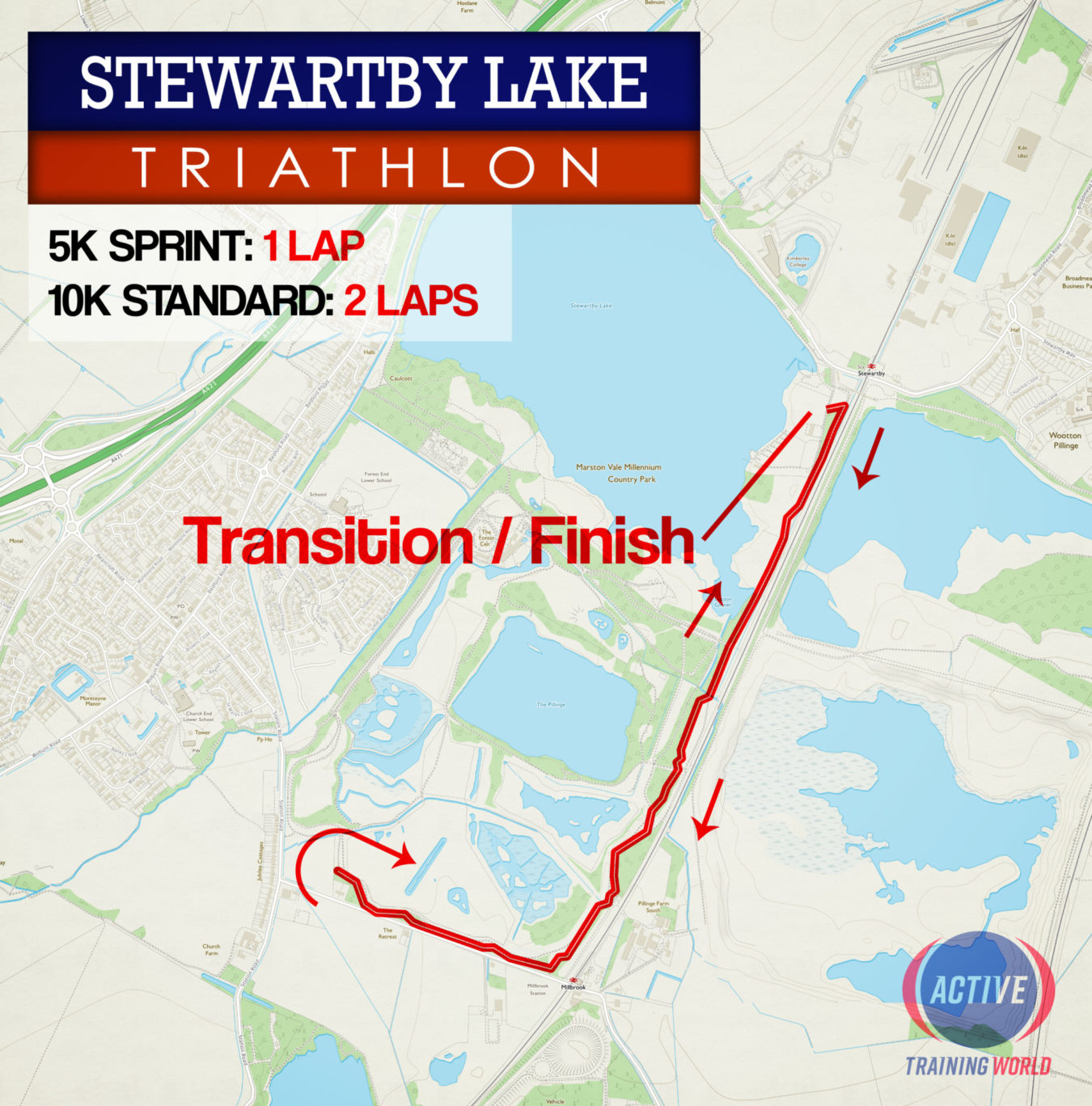 Stewartby Run Map