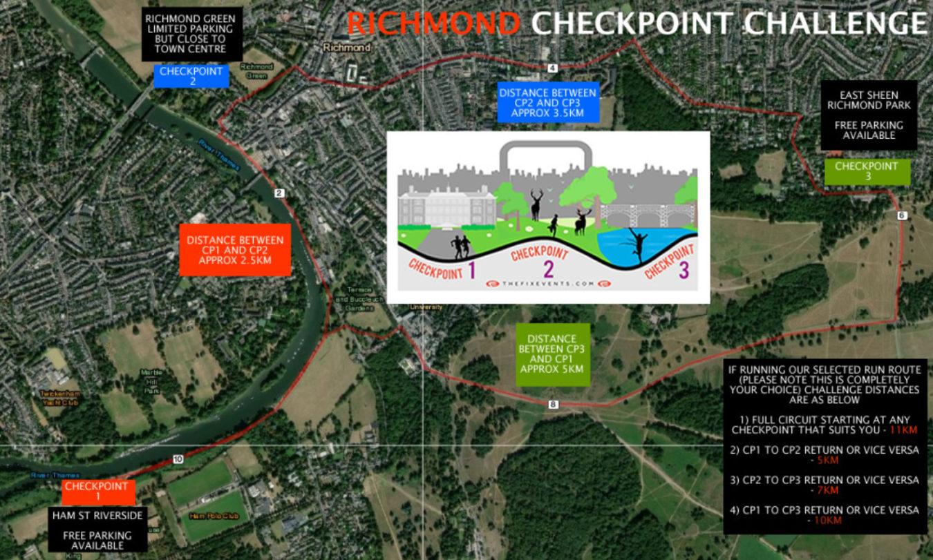 The Richmond Check Point Run Challenge Race 2