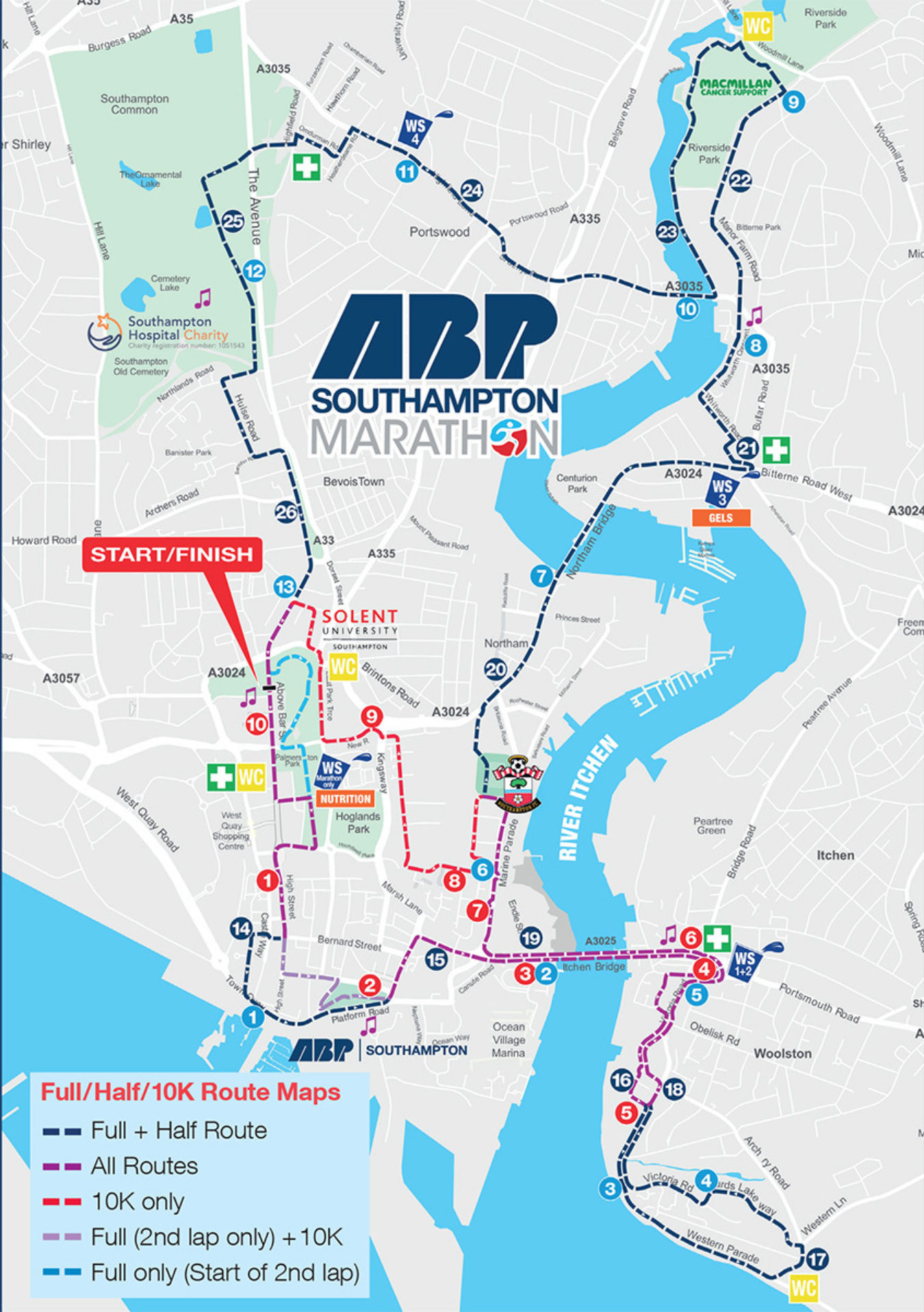 Southampton Race Schedule With Map 2019