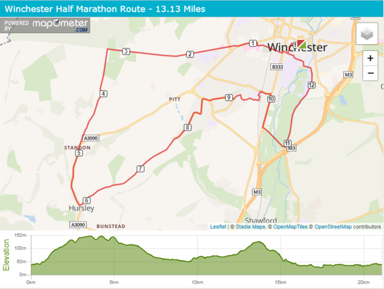 Winch Half Route
