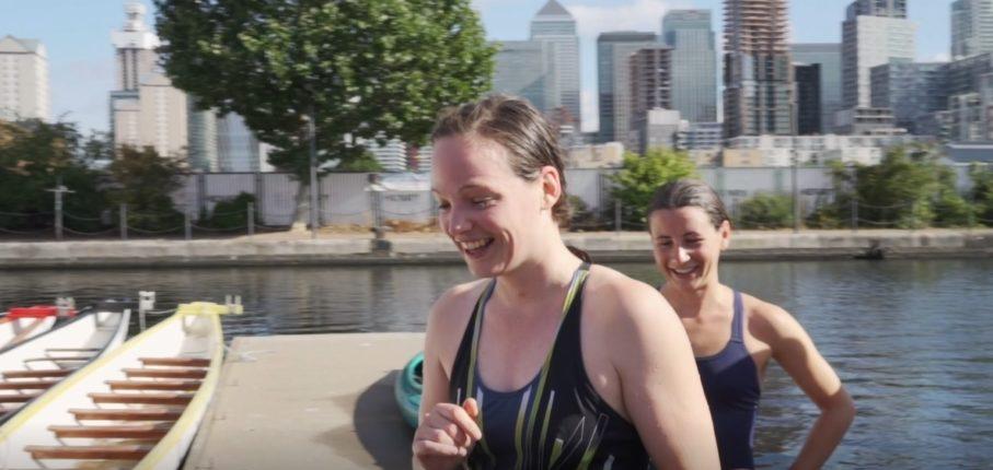 Canary Wharf Mile Swim
