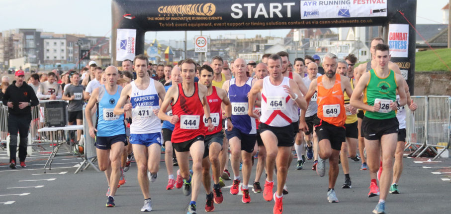 Ayr Running Festival Start Photo