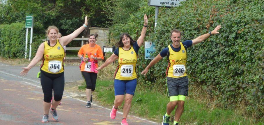 Hullavington10 K 2018 Runners