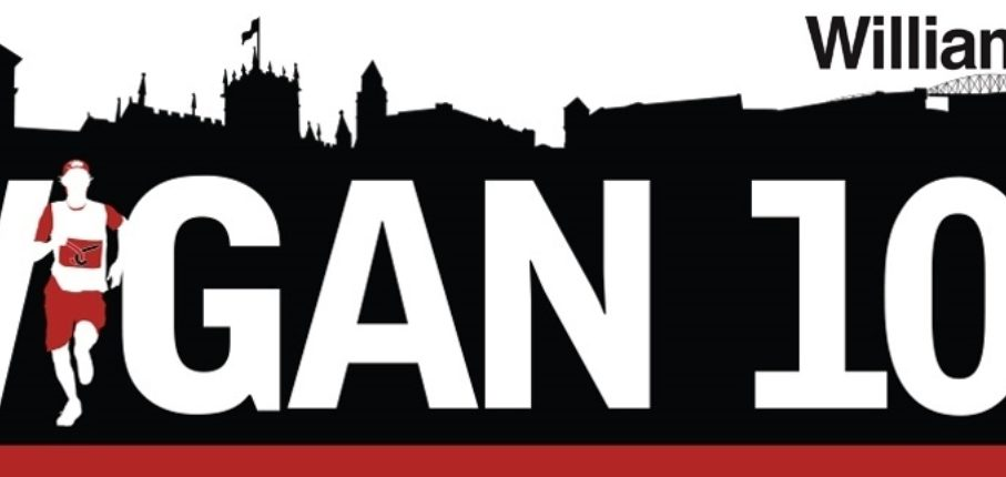 Wigan 10 K Registration Graphic 2019