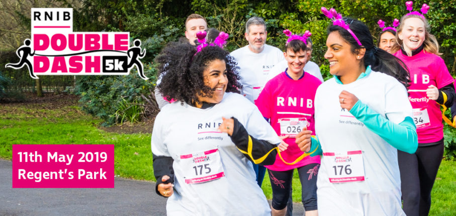 RNIB Double Dash 5K 2019 | Sat 11 May | Book @ Findarace