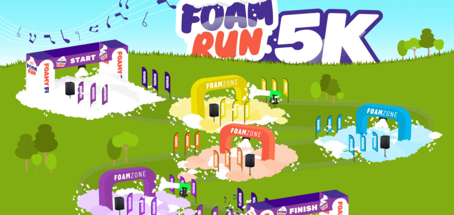 Findarace Foam Run