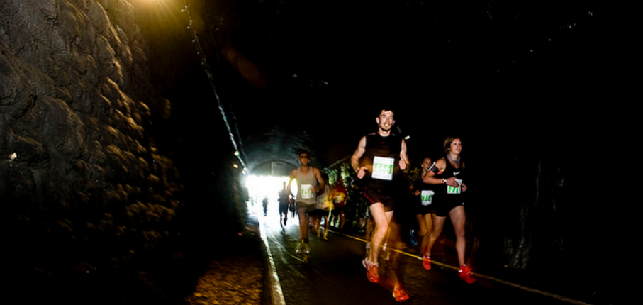 Bath Marathon Tunnel Running