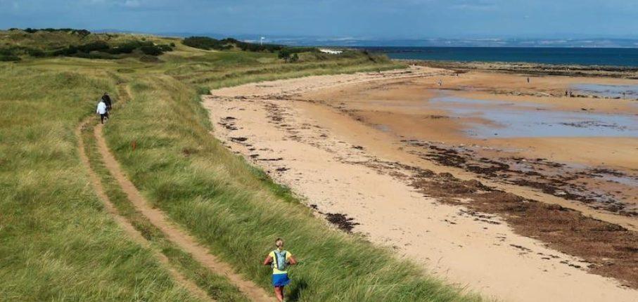 Nicola Running Fife Coastal Route Pic 1