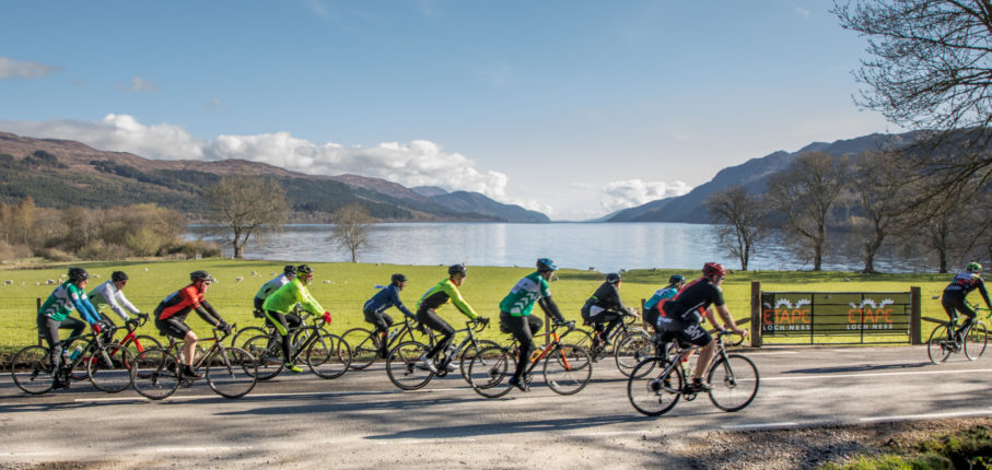Etape Loch Ness 2018 Riders At Fort Augustus By Paul Campbell