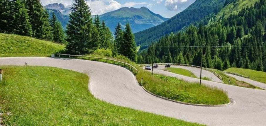 Dolomites Hairpins 1200X400