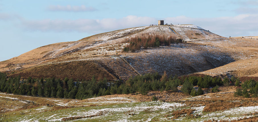 Rivington Pike Winter 1