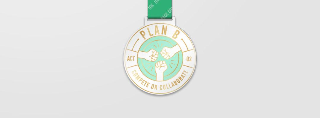Plan B Medal Header