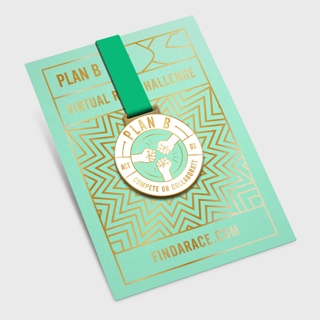 Plan B Medal Card 2