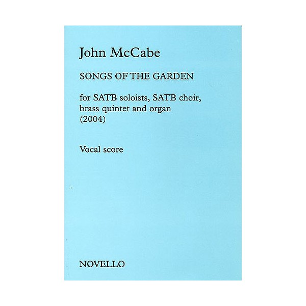 John McCabe: Songs Of The Garden - McCabe, John (Composer)