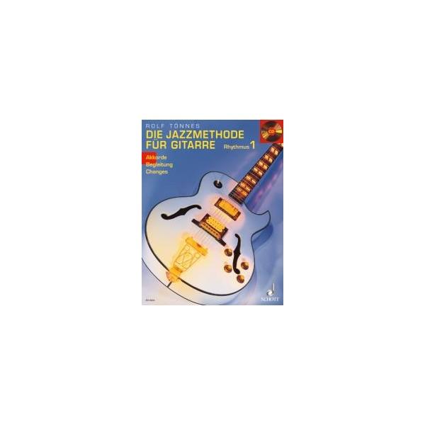 Toennes, Rolf - The Jazz method for Guitar - Rhythms