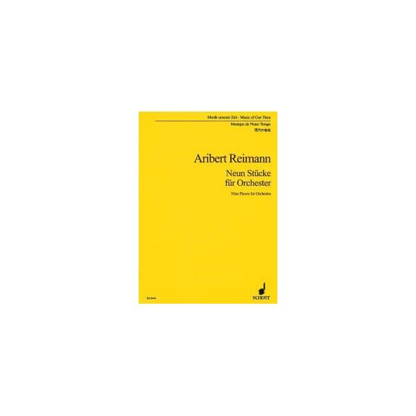 Reimann, Aribert - 9 Pieces