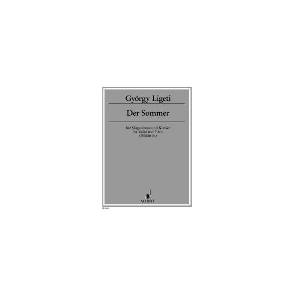 Ligeti, Gyoergy - The summer