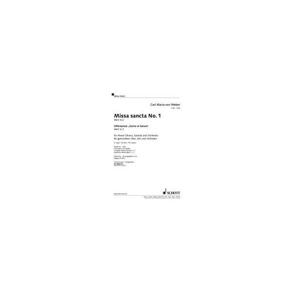 Weber, Carl Maria von - Missa sancta No.1 Eb major  WeV A.2 / WeV A.3