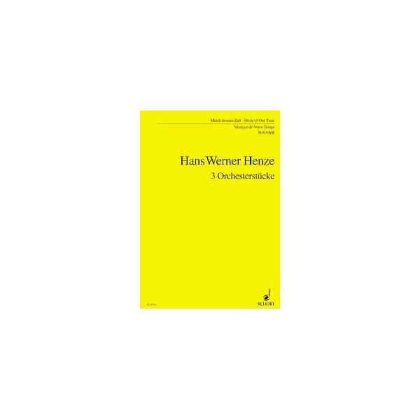 Henze, Hans Werner / Hartmann, Karl Amadeus - 3 Pieces for Orchestra