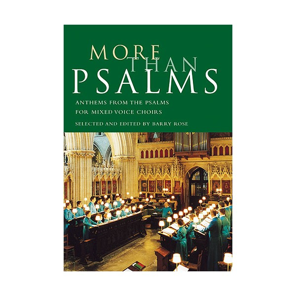 More Than Psalms - Rose, Barry (Author)