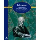 Telemann, Georg Philipp - Easy Fugues with little Pieces  TWV 30: 21-26