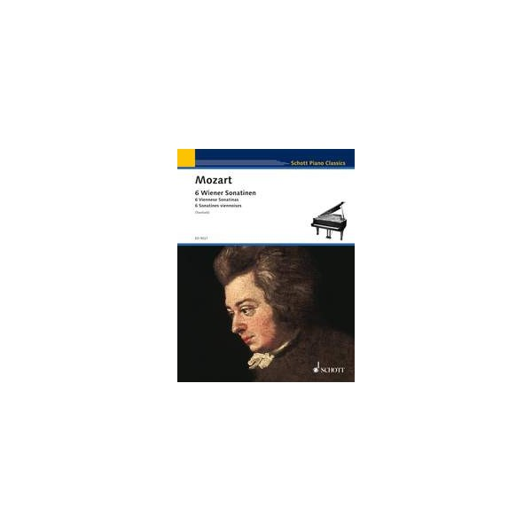 Mozart, Wolfgang Amadeus - 6 Viennese Sonatinas