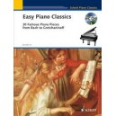 Easy Piano Classics - 30 Famous Pieces from Bach to Gretchaninoff
