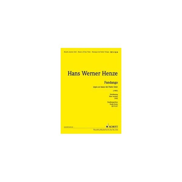 Henze, Hans Werner - Fandango