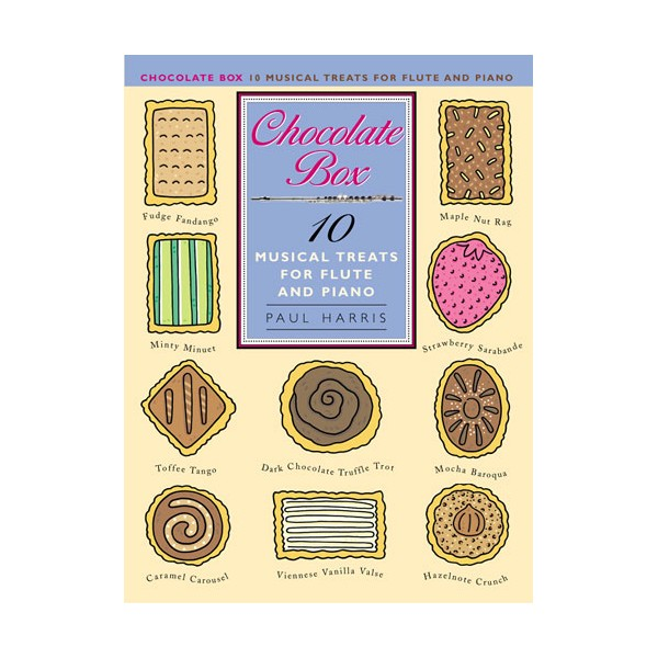 Paul Harris: Chocolate Box - 10 Musical Treats For Flute And Piano - Harris, Paul (Composer)