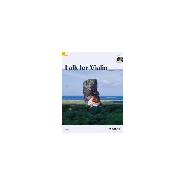 Folk for Violin - in very easy arrangements