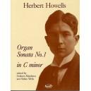 Herbert Howells: Sonata No.1 In C Minor Organ - Howells, Herbert (Artist)