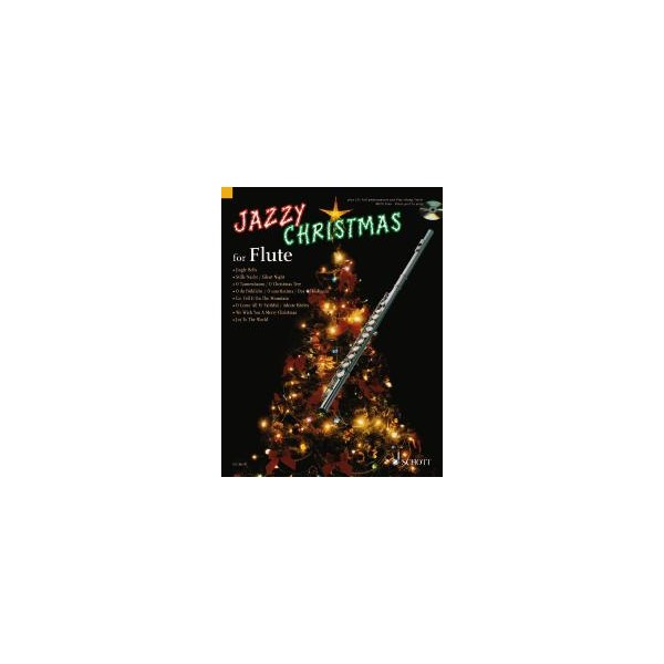 Jazzy Christmas for Flute - plus CD: Band Playbacks - MIDI-Files - Piano part to print