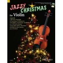 Jazzy Christmas for Violin - (+ CD: Band Playbacks - MIDI-Files - Piano part to print)