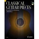 Classical Guitar Pieces - 50 easy-to-play pieces, in standard musical notation and tabulature