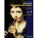 Heyens, Gudrun - Advanced Recorder Technique   Vol. 1