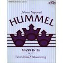 Hummel, Johann Nepomuk - Mass in B flat