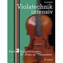 Märkl, Josef - Violatechnik intensiv Band 2