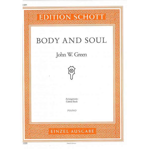 Green, John W. - Body and Soul