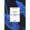 Mccabe Partita For Solo Cello (1966) - McCabe, John (Artist)