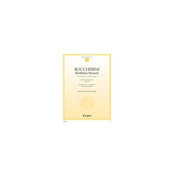 Boccherini, Luigi - Famous Minuet A Major op. 13/5
