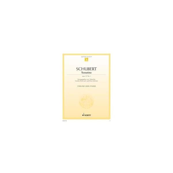 Schubert, Franz - Sonatina D Major op. 137/1 D 384