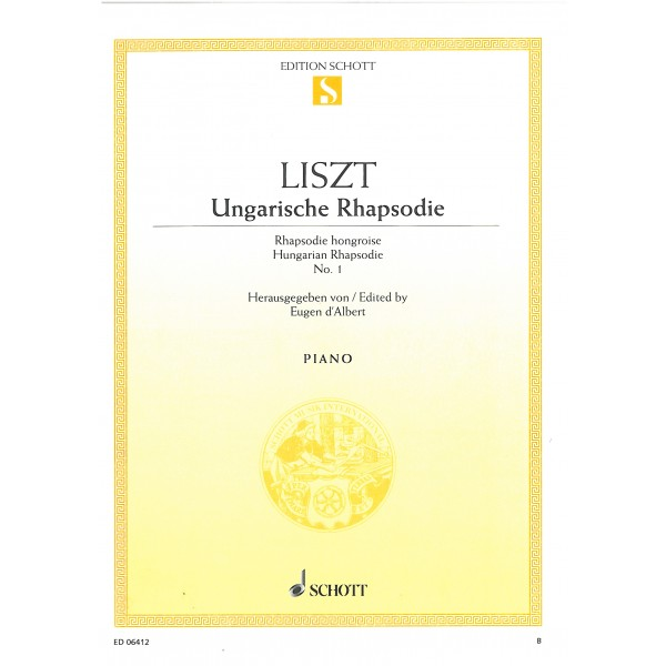 Liszt, Franz - Hungarian Rhapsodies