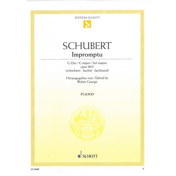 Schubert, Franz - Impromptu op. 90 D 899