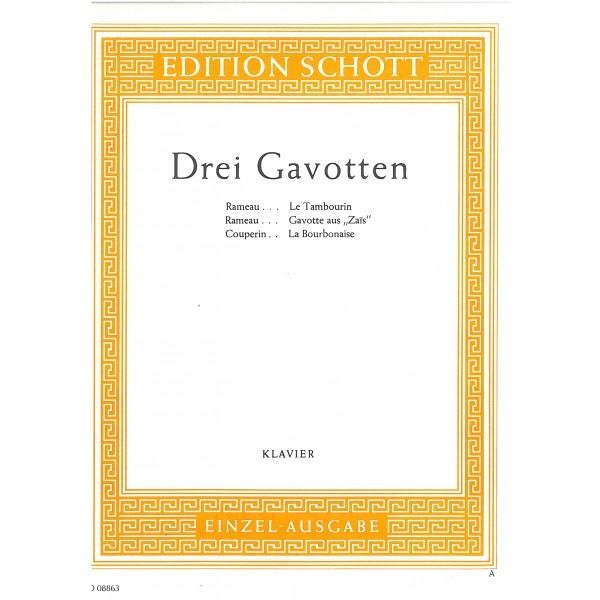 Couperin, François / Rameau, Jean-Philippe - Gavotte