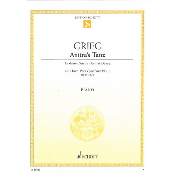Grieg, Edvard - Anitras Dance op. 46/3