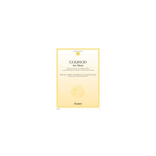 Gounod, Charles / Bach, Johann Sebastian - Ave Maria