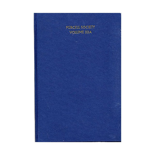 Purcell Society Volume - 22A Catches (Cloth Bound) - Purcell, Henry (Artist)